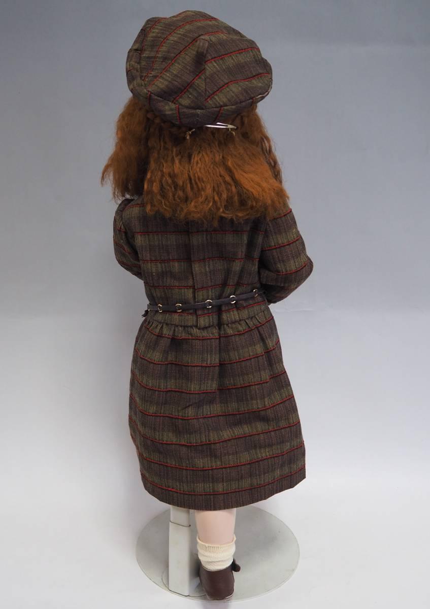 D1735 SIMON&HALBIG ビスクドール シモンハルビック アンティーク 西洋人形 コレクター放出 _画像2