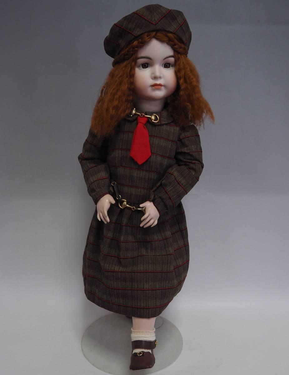 D1735 SIMON&HALBIG ビスクドール シモンハルビック アンティーク 西洋人形 コレクター放出 _画像1