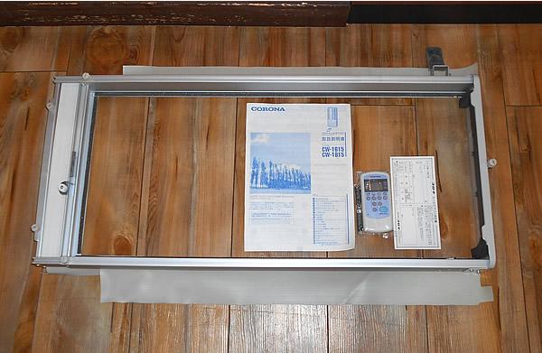 ★CORONA コロナ 窓用エアコン CW-1615 1.6kw 2015年製 美品 横浜★_画像3