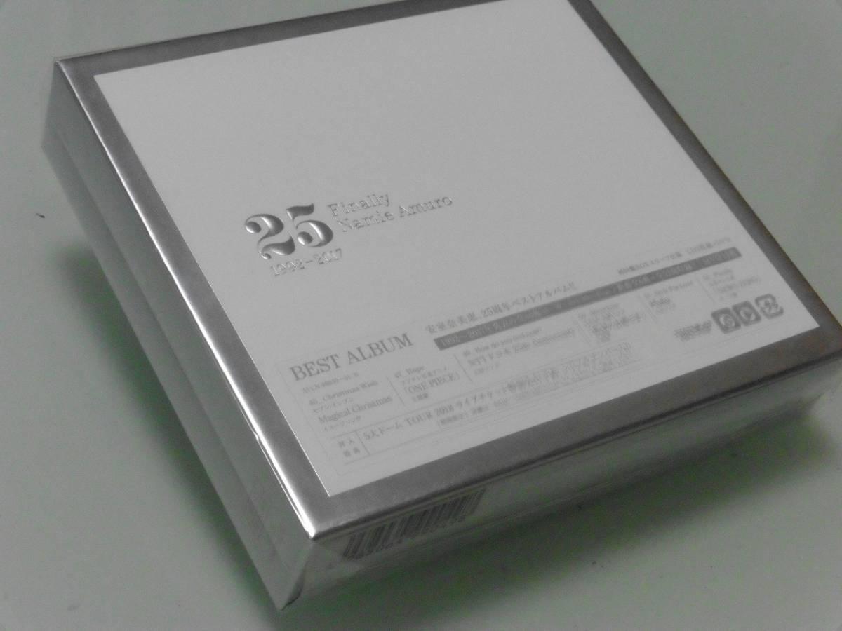 スリーブBOXのみの出品です。初回BOXスリーブ仕様 Finally 3CD+DVD用BOXのみ 新品 安室奈美恵