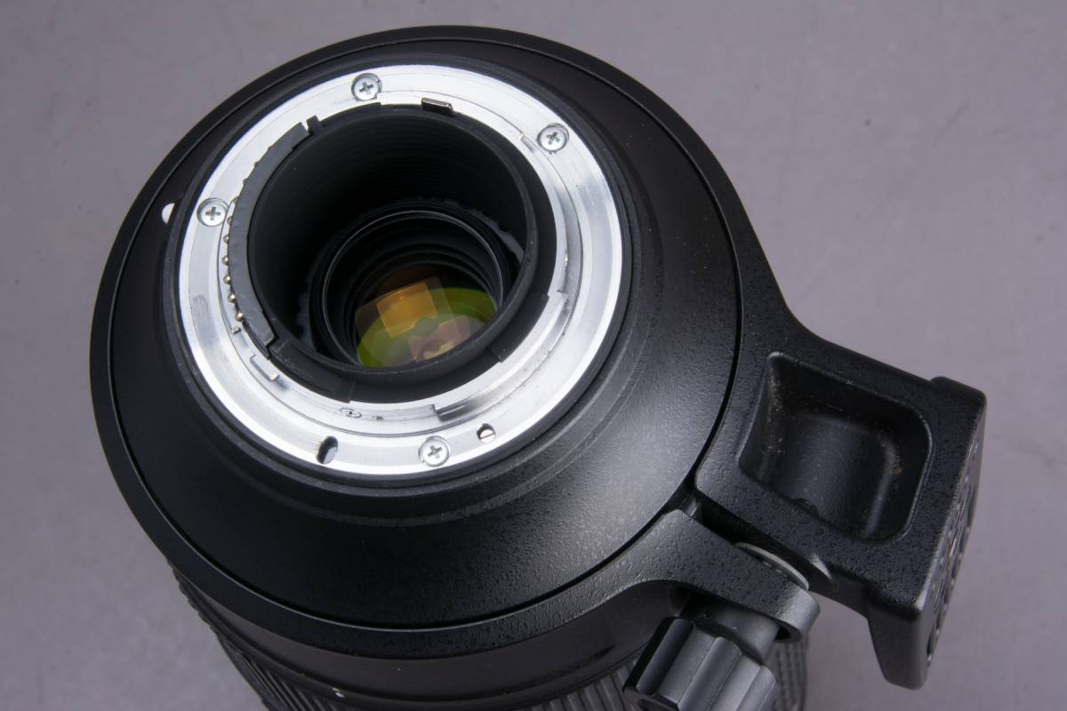 Nikon AF-S NIKKOR 80-400mm f/4.5-5.6G ED VR フード・プロテクター・ケース付 望遠ズームレンズ ニコン 撮影機材 一眼レフ カメラ_画像9