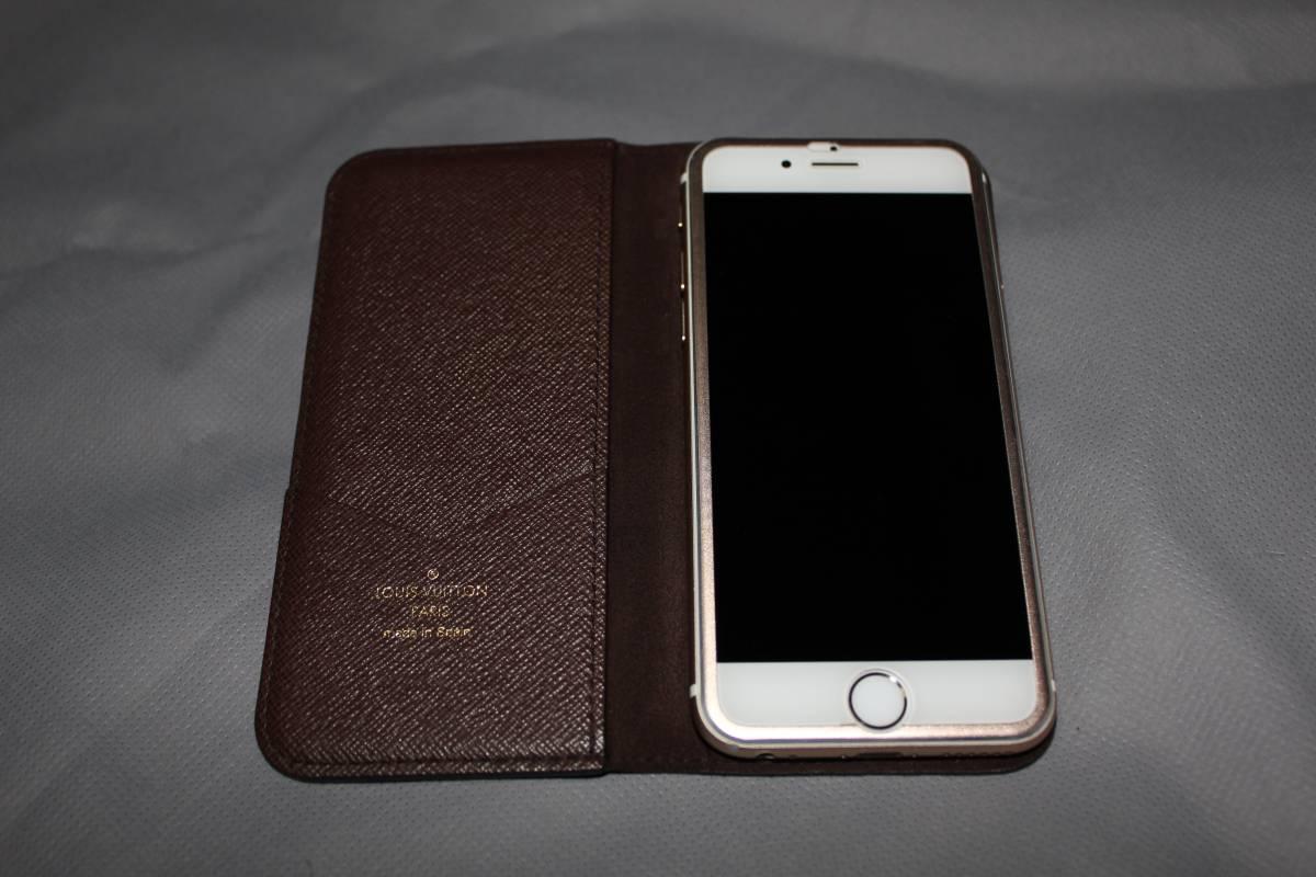Louis Vuitton iPhone6s 64GB SIMロック解除済み ゴールド ヴィトンフルセット 送料無料 返品可能_画像2