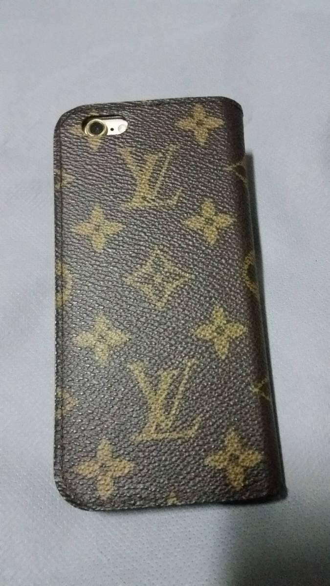 Louis Vuitton iPhone6s 64GB SIMロック解除済み ゴールド ヴィトンフルセット 送料無料 返品可能_画像4