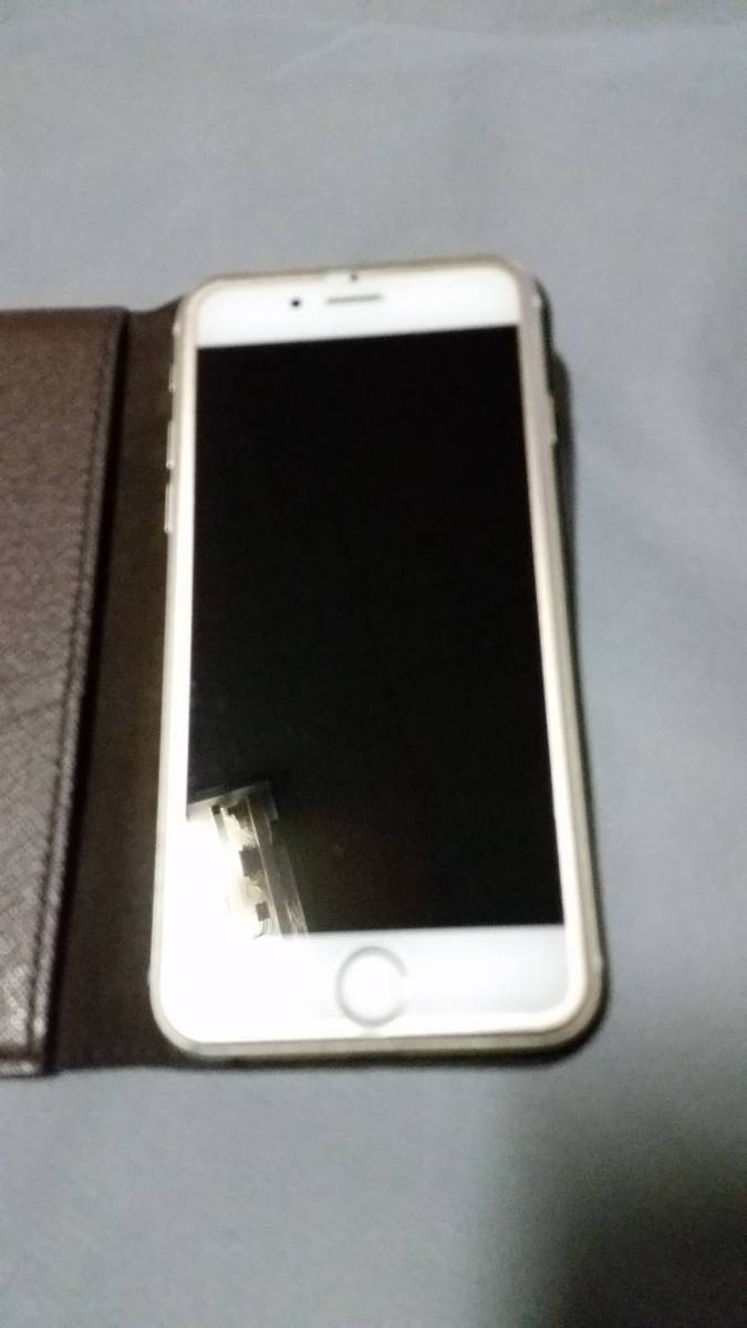 Louis Vuitton iPhone6s 64GB SIMロック解除済み ゴールド ヴィトンフルセット 送料無料 返品可能_画像6