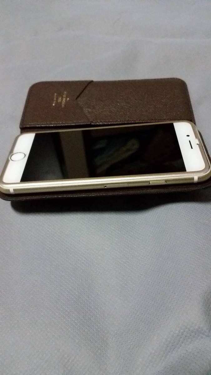 Louis Vuitton iPhone6s 64GB SIMロック解除済み ゴールド ヴィトンフルセット 送料無料 返品可能_画像9