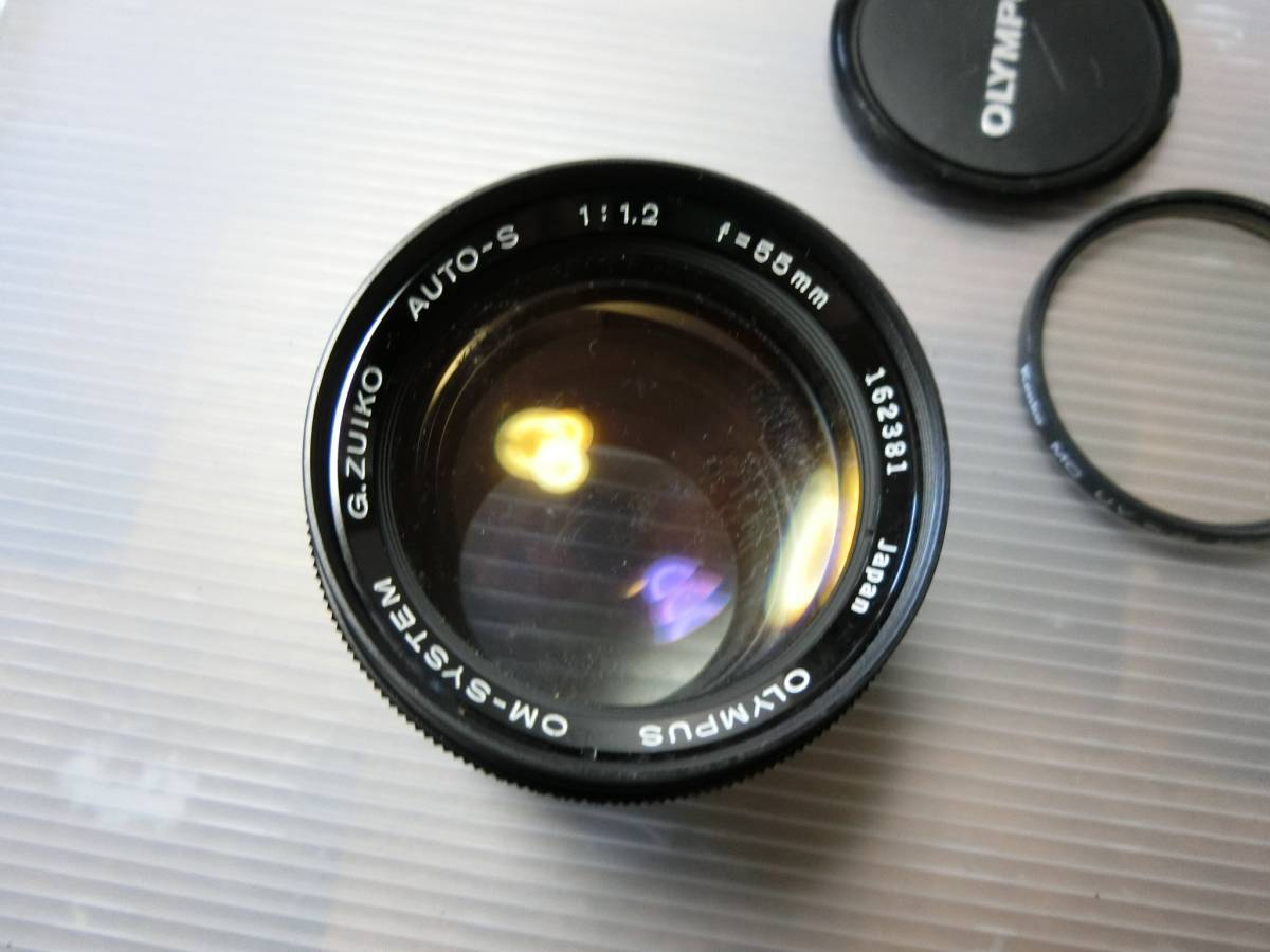 OLYMPUS オリンパス OM-SYSTEM G.ZUIKO AUTO-S 55mm F1.2 管J_画像7