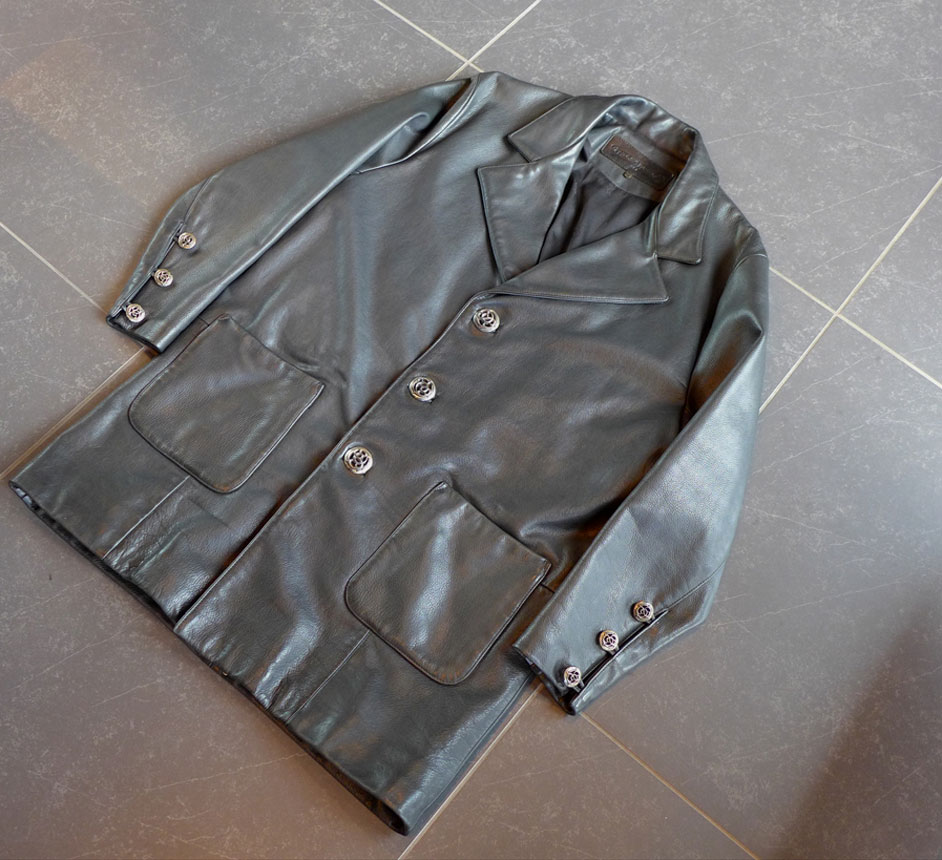 Chrome Hearts クロムハーツ レザー ジャケット コート 本物保証