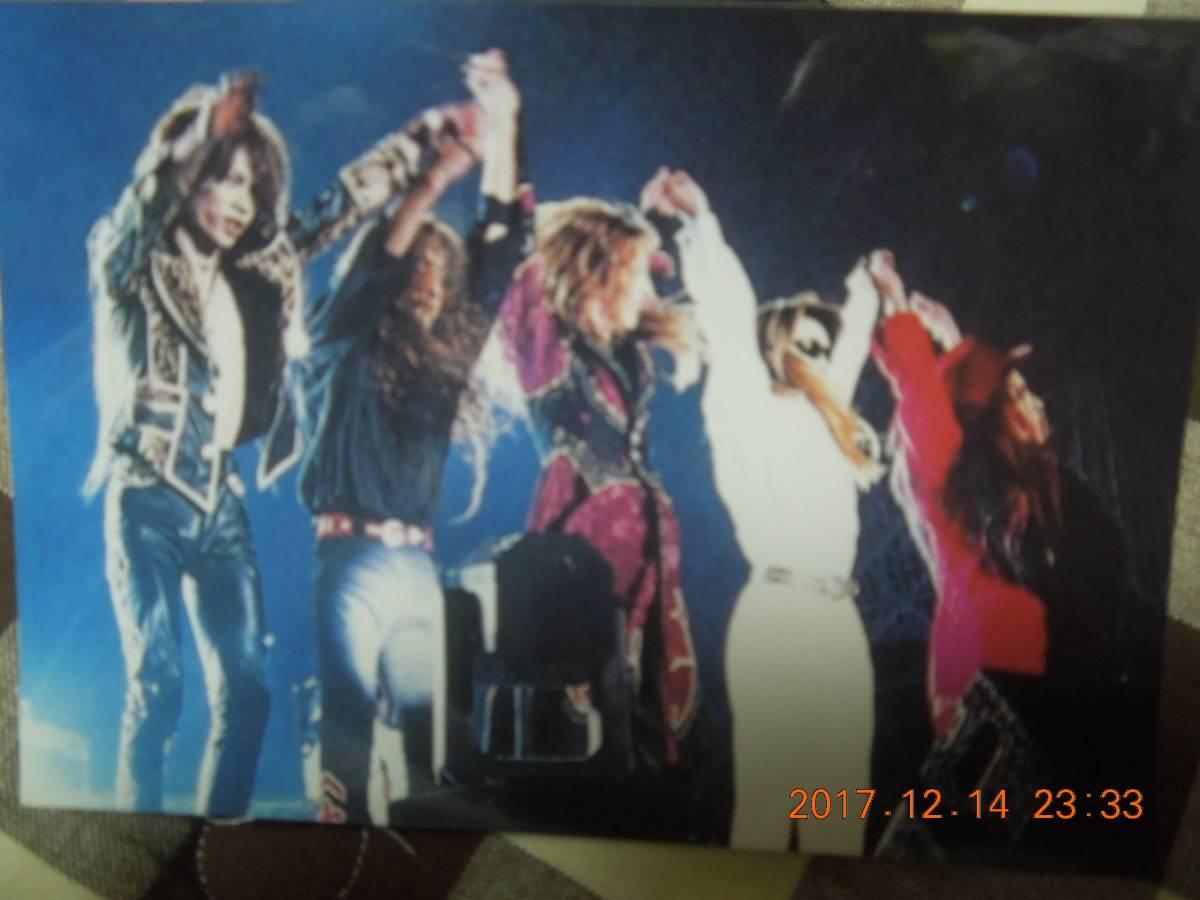 X JAPAN ブロマイド 写真 ② / YOSHIKI TOSHI Toshl HIDE PATA HEATH