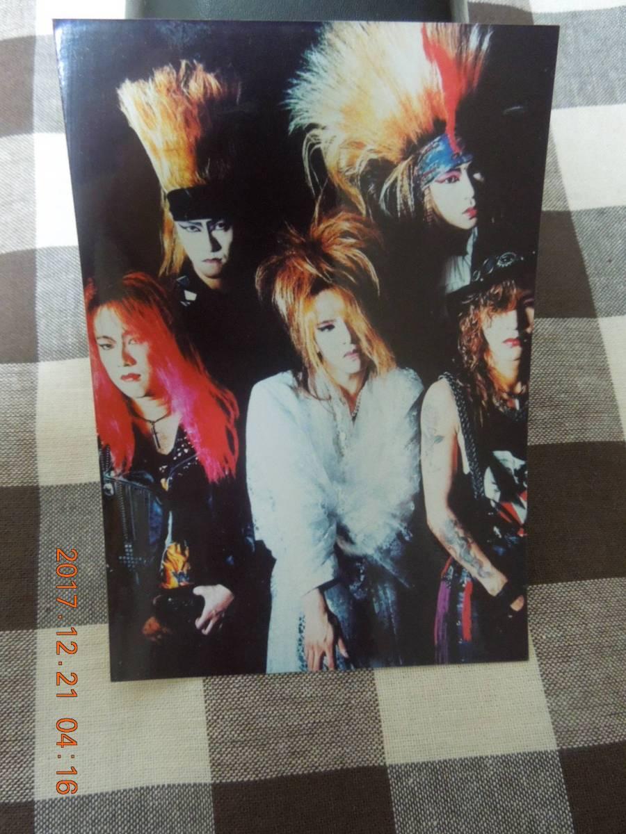 X JAPAN ブロマイド 写真 ③ / X時代 YOSHIKI TOSHI Toshl HIDE PATA TAIJI