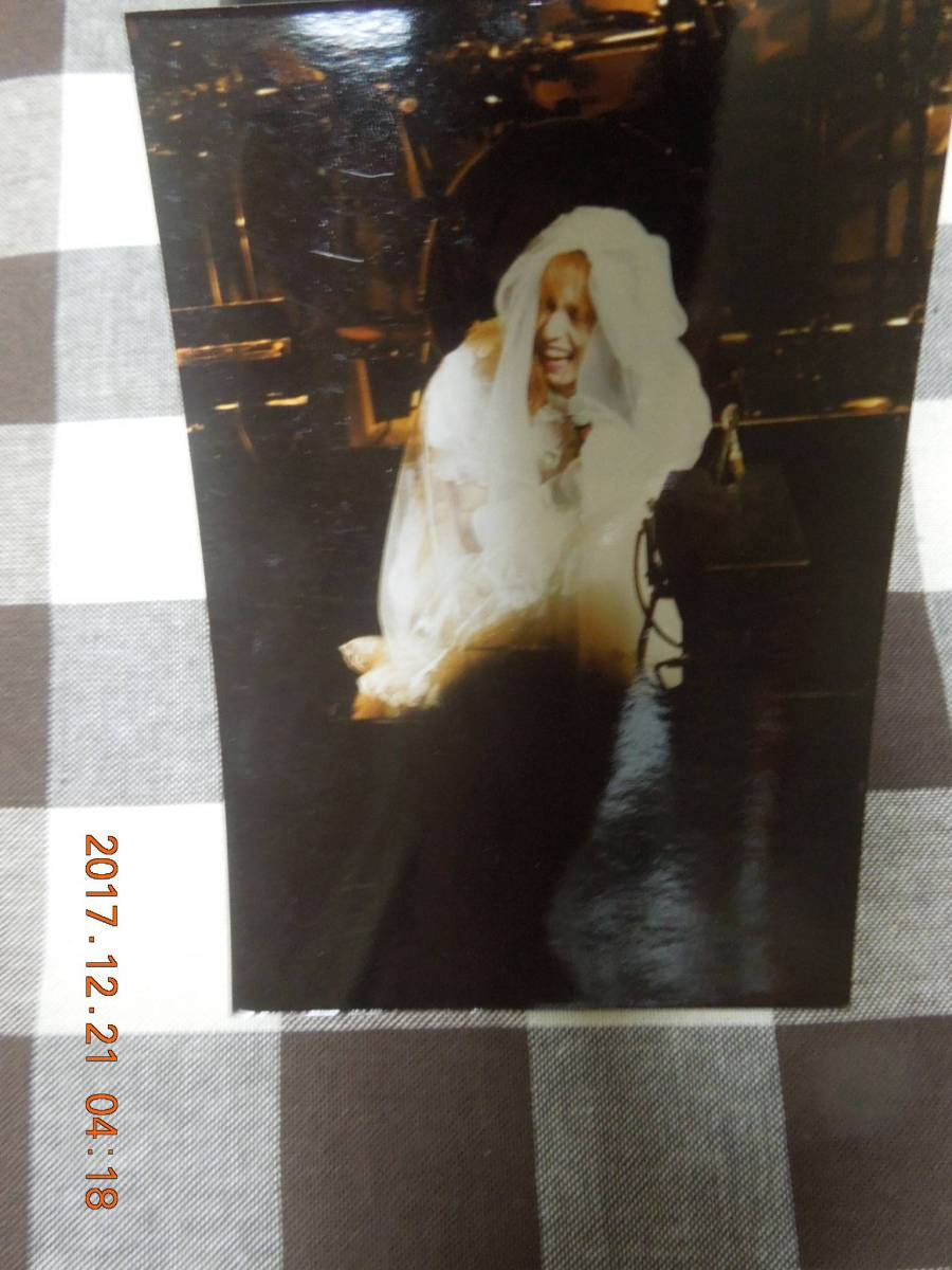 YOSHIKI ブロマイド 写真 30 / X JAPAN ウェディングドレス