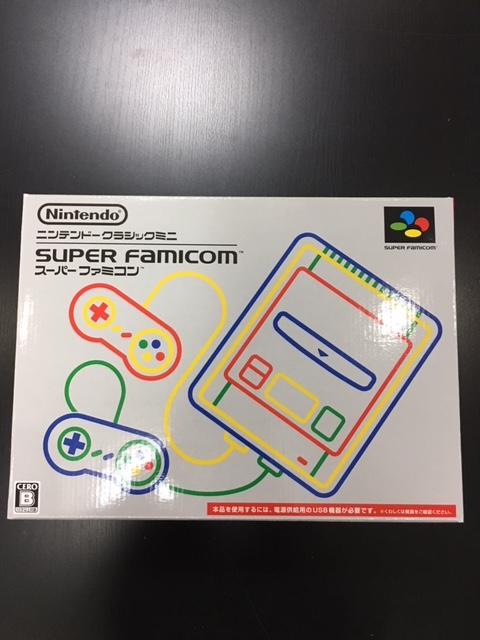 新品未使用 任天堂 スーパーファミコンミニ本体 クラッシックミニ マリオ