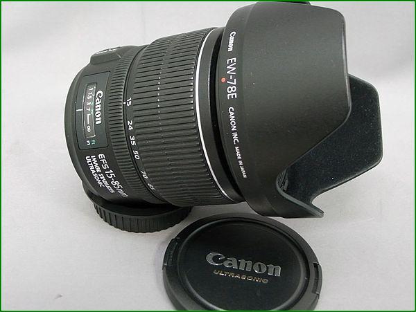 Canon/キャノン EF-S 15-85mm f3.5-5.6 IS USM