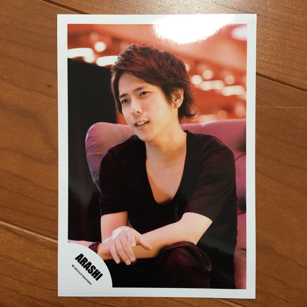 ★即決¥1000★ 嵐 公式写真 2537 ★ 二宮和也 / Face Down フェイスダウン 1枚