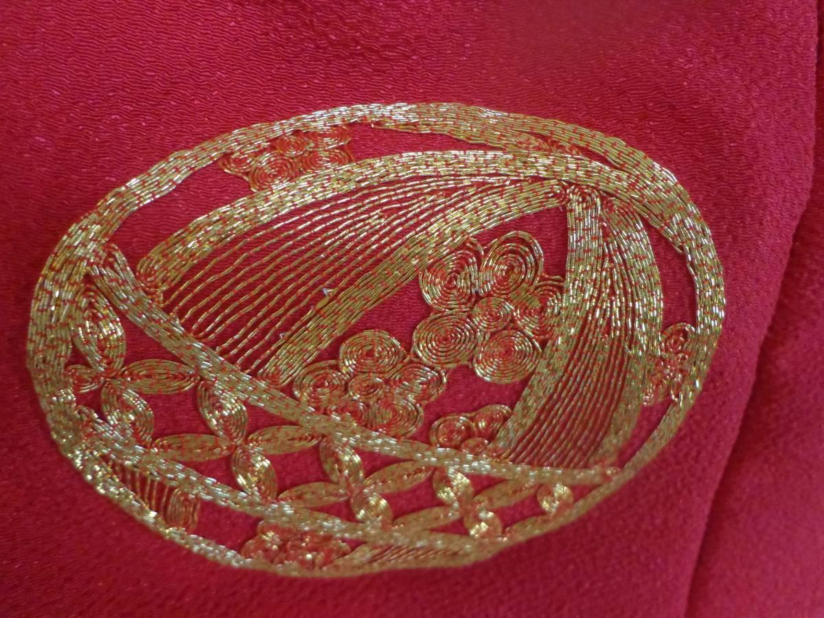 NO310【新品】 被布コートセット(日本製)花柄・ピンク地 三才用 七五三・お正月にも (※画像たくさんあります!_画像7
