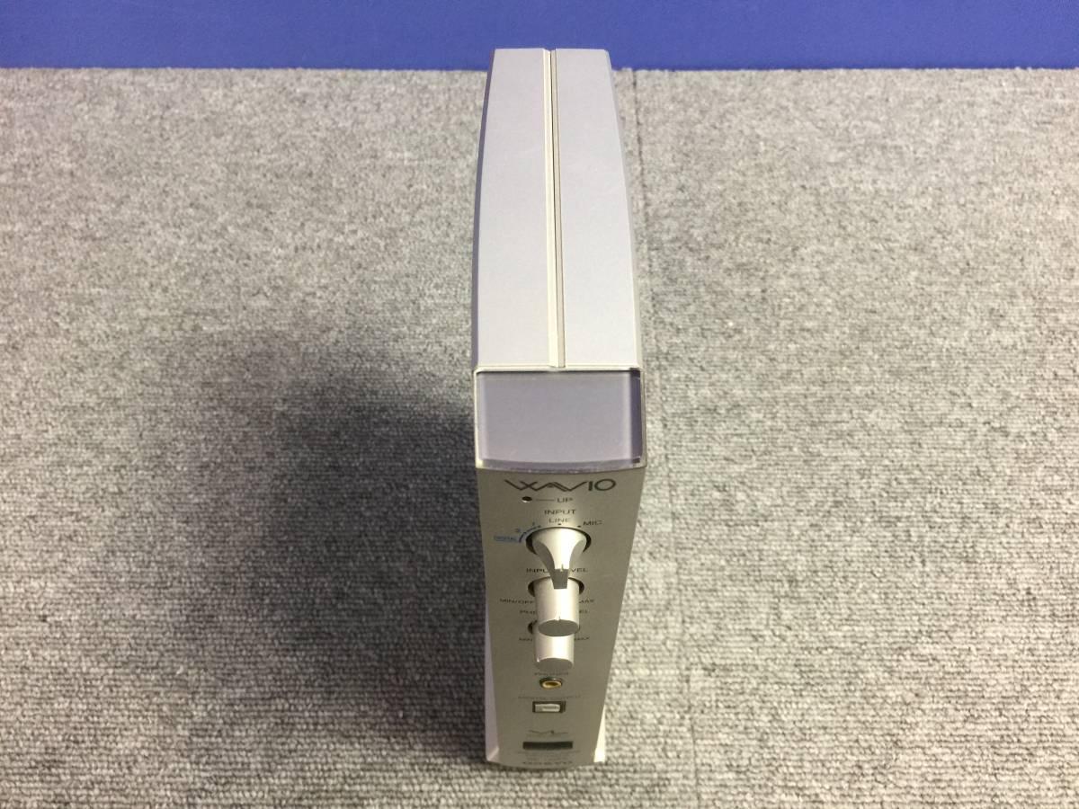 01-C763P【ONKYO】USB デジタルオーディオプロセッサー (SE-U55X) 動作未確認 ジャンク_画像6
