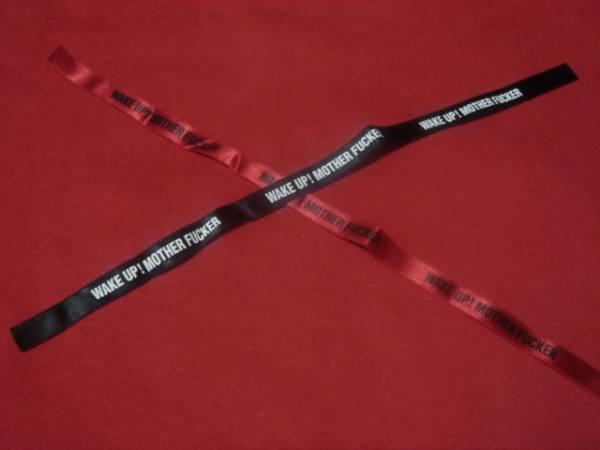 ★★★【J】レア!黒&赤リボンブレス★★★LUNA SEA J ルナシー