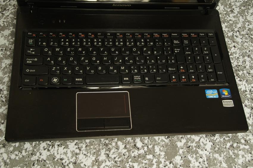 【ジャンク】Lenovo G570 Core i5モデル_画像3