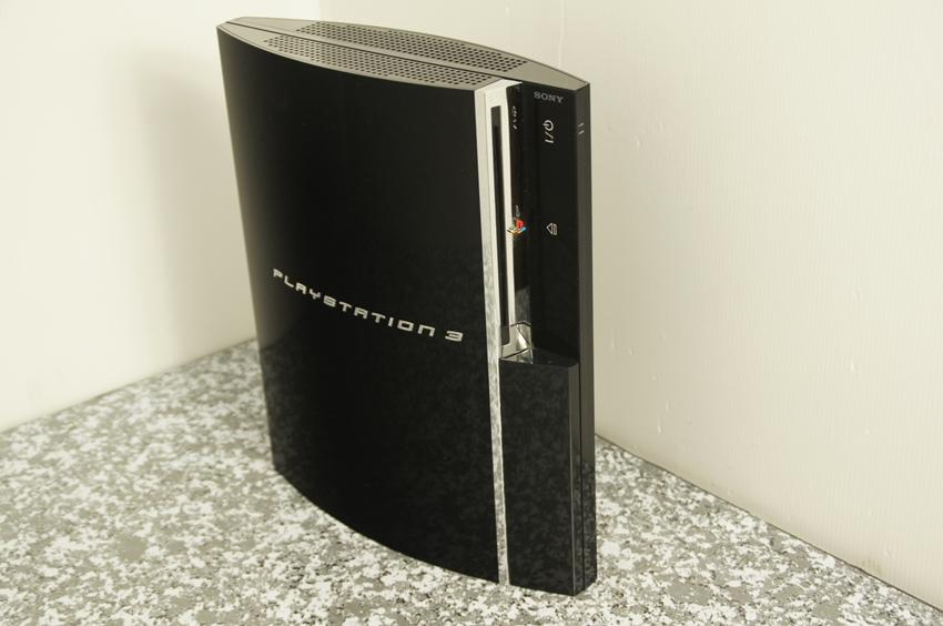 【ジャンク】PS3 CECHA00 本体 ブラック 前期厚型(PS2互換モデル) YLOD