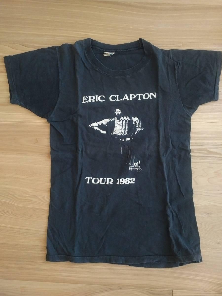 ビンテージ エリック・クラプトン Eric Clapton Tシャツ 1982年