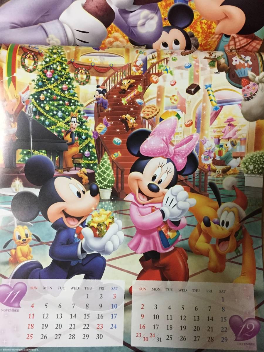 非売 値下 ディズニー 2018年 壁掛カレンダー 第一生命 ミッキーミニィ_画像2