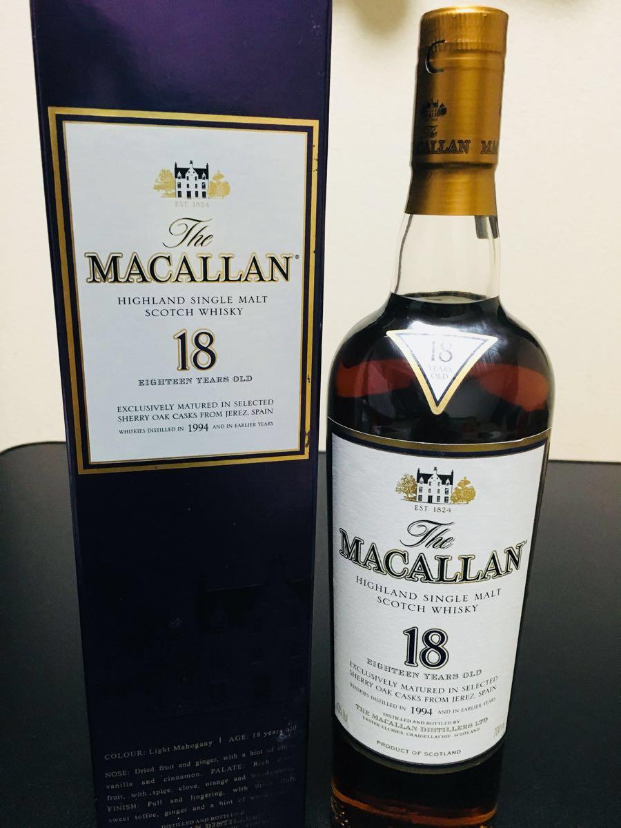 TheMACALLAN/マッカラン 18年 1994 ウイスキー 700ml 新品未開封 正規品 箱付き