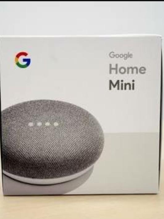1円~ 【新品未開封】Google Home Mini ★グーグルホームミニ AIスピーカー チョーク_画像2
