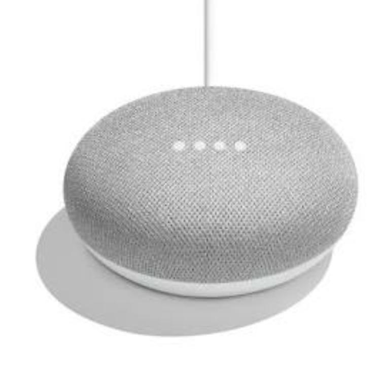 1円~ 【新品未開封】Google Home Mini ★グーグルホームミニ AIスピーカー チョーク