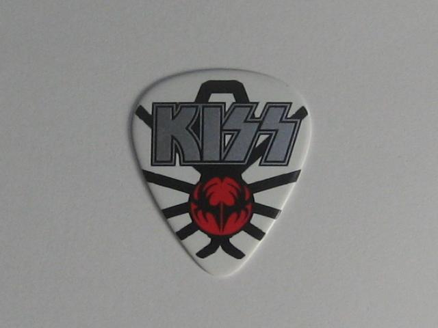 ★KISS キッス Gene Simmons ジーン・シモンズ 2014 Tour ギターピック