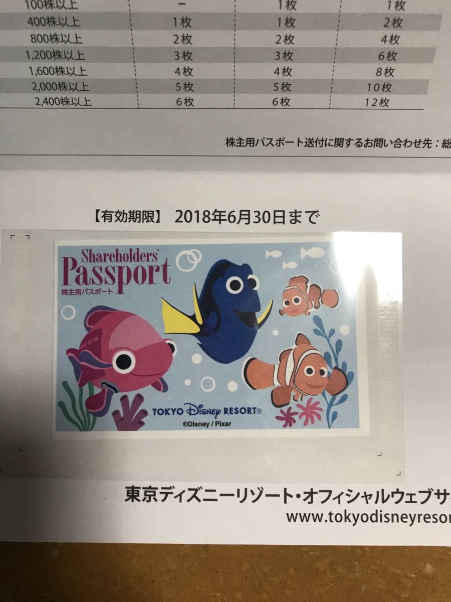 東京ディズニーリゾート株主用パスポート
