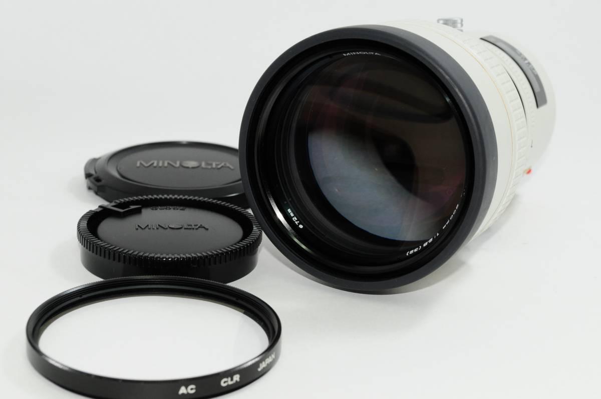 ★極上美品★ MINOLTA ミノルタ AF APO TELE 200mm f2.8