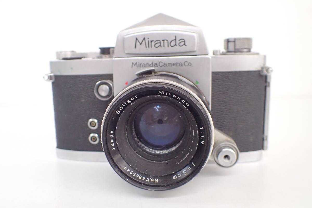 1565管09M12 miranda カメラ レンズ ミランダ NO.655394 シルバーボディ 希少 ジャンク