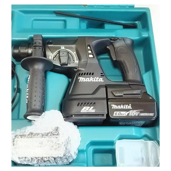 マキタ HR244DRGXB ハンマドリル 24ミリ 充電式 黒 (バッテリー・充電器・ケース付)_画像3