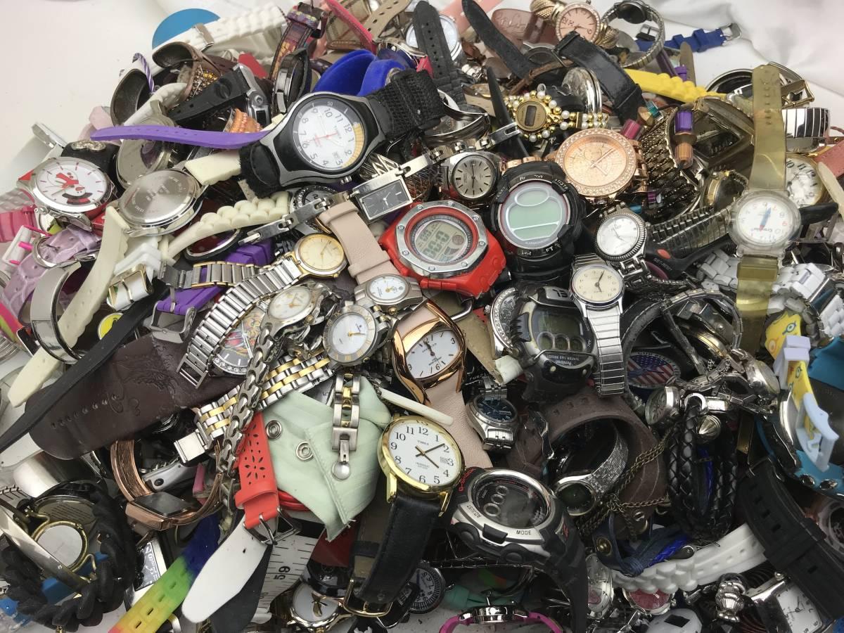 腕時計大量ジャンク300個約12.5kg国内外ブランドまとめセットG-SHOCK他 303メンズレディース★★★★★★★★