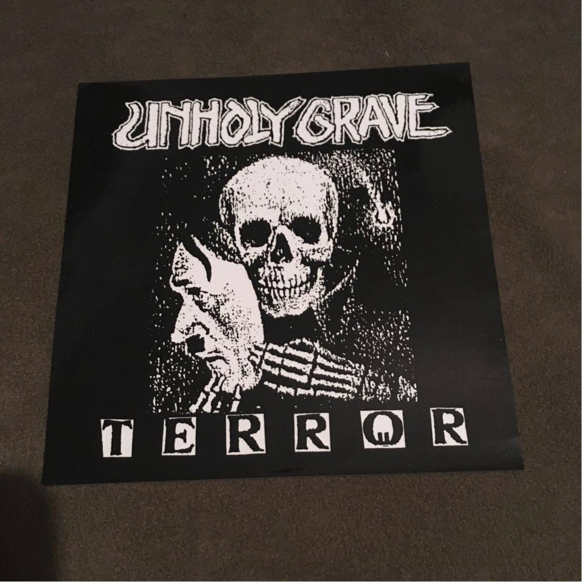 unholy grave ステッカー /GAUZE GISM