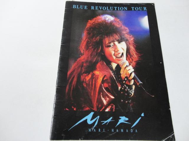 ◆◆パンフ◆◆1985◆◆浜田麻里『BLUE REVOLUTION TOUR』◆◆◆◆◆