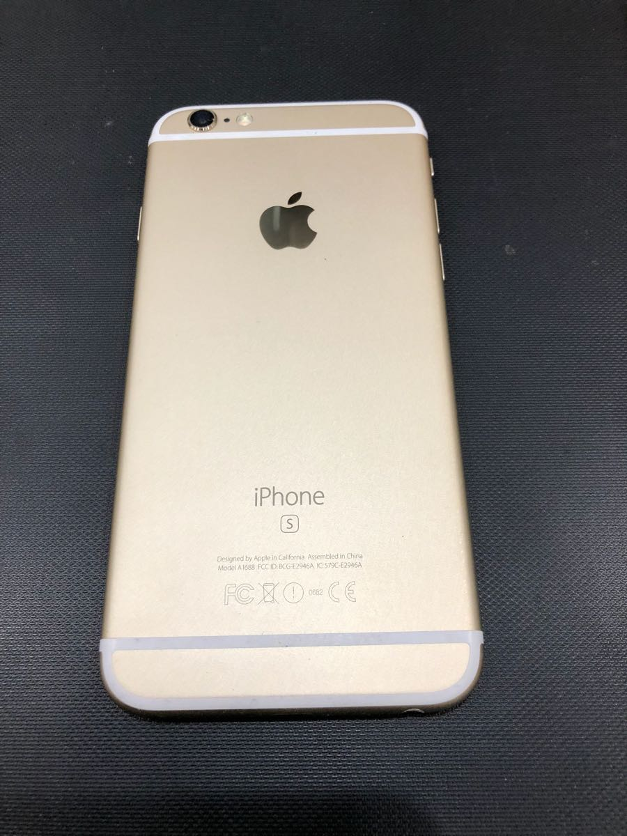 iPhone アイフォン 6S 128GB ローズゴールド 復元 売り切り 送料無料_画像2