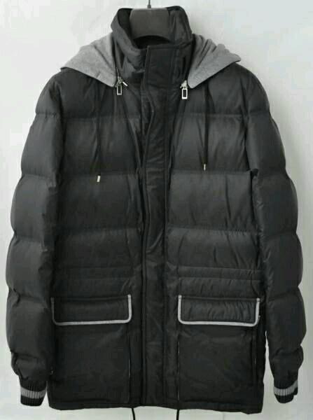 reputable site ca4ad 7d1cd 新品 タグ Dior homme ディオールオム パイピング加工 ドローコード フード 2way ロング丈 ダウン ジャケット コート メンズ  イタリア製
