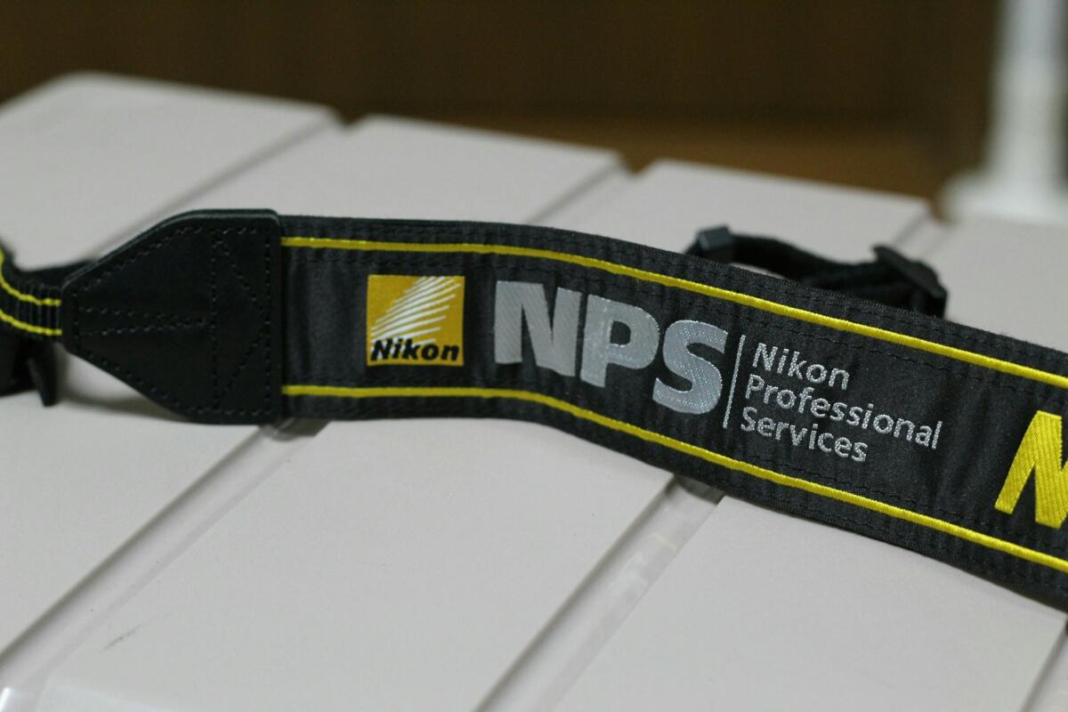 希少☆Nikon NPS プロストラップ・ストラップ☆ニコン Professional_画像2