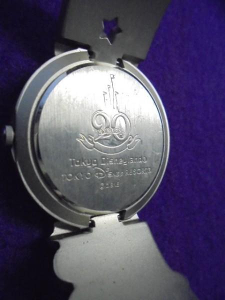 中古/東京ディズニーランド 20周年/ティンカーベル文字盤/ミッキー/クウォーツ腕時計/TDRTDLTDS_画像3