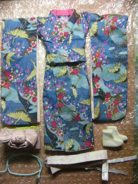 レア 1/6 女性和服 着物セット シームレス カスタム用 衣装