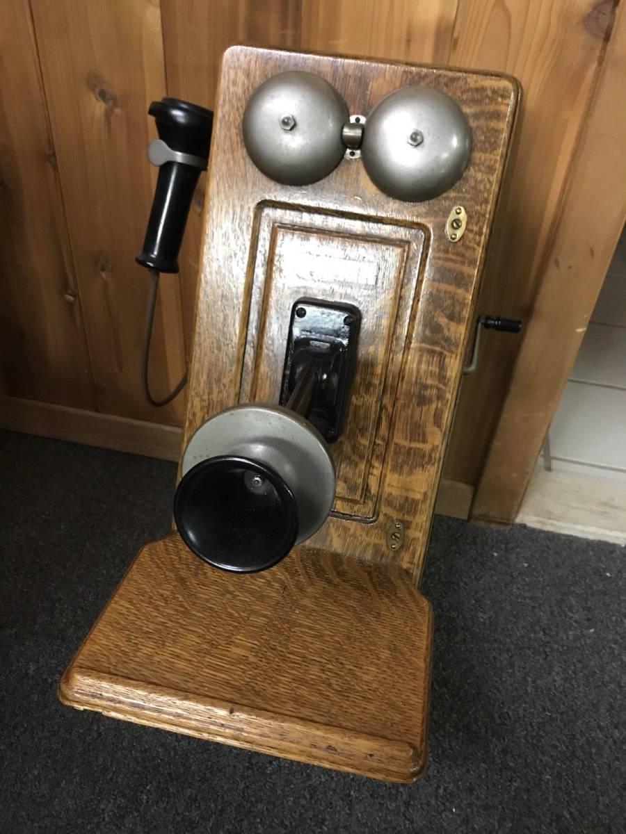 ヴィンテージ!! レア!! アンティーク 電話機 Vintage Western Electric 壁電話