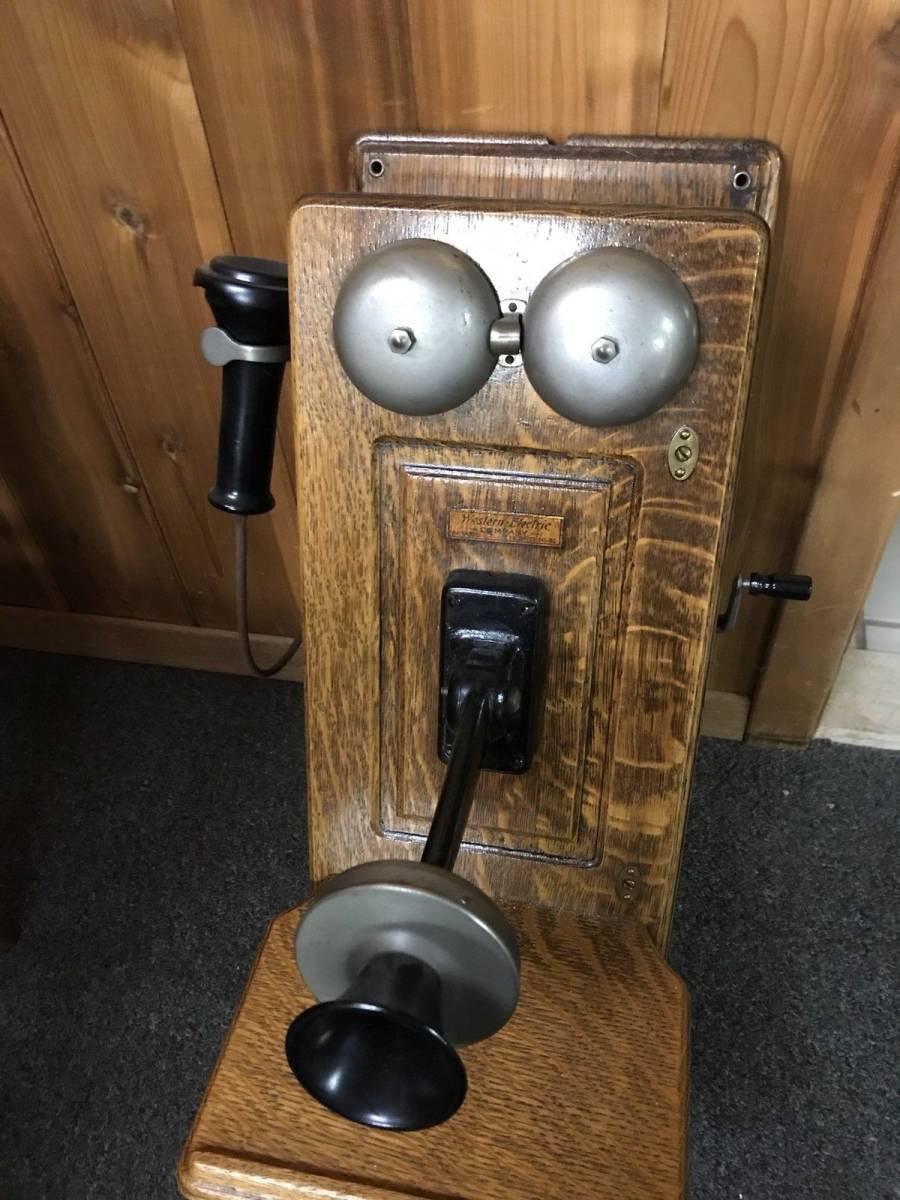 ヴィンテージ!! レア!! アンティーク 電話機 Vintage Western Electric 壁電話_画像5