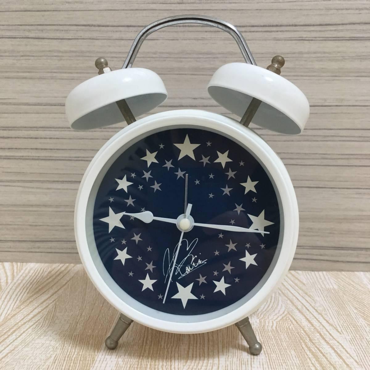 【即決】西野カナ カナやんボイス入りオリジナル目覚まし時計 ホワイト 白(A945)