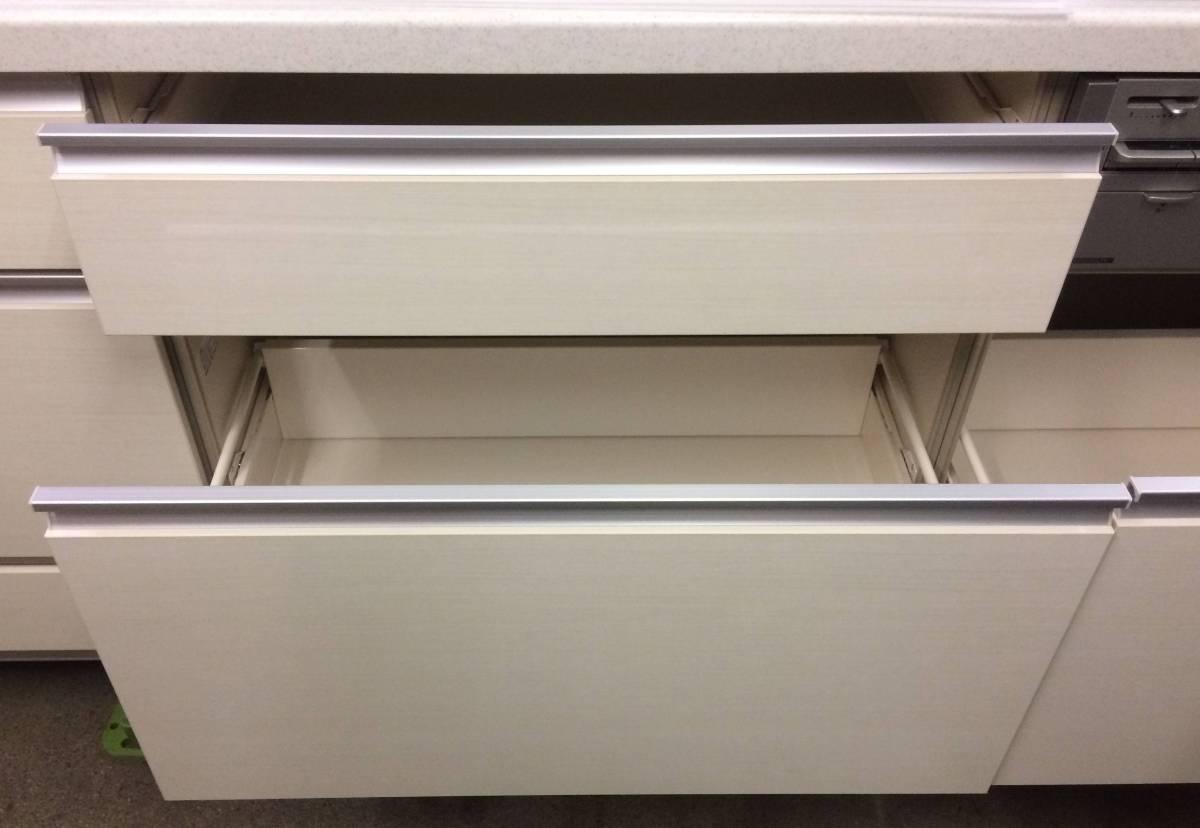サンウェーブ LIXIL システムキッチン&フジテックレンジフード 展示未使用品!!_画像5