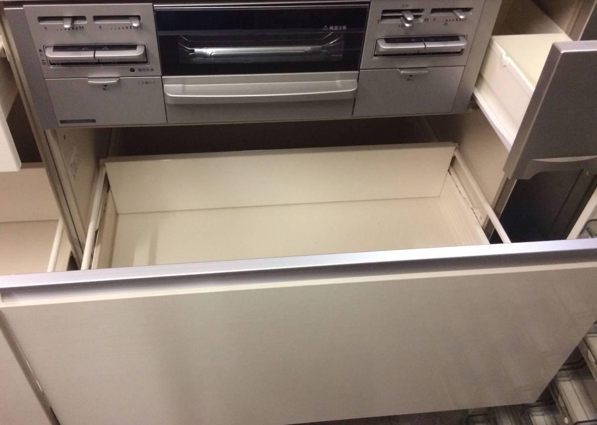 サンウェーブ LIXIL システムキッチン&フジテックレンジフード 展示未使用品!!_画像6