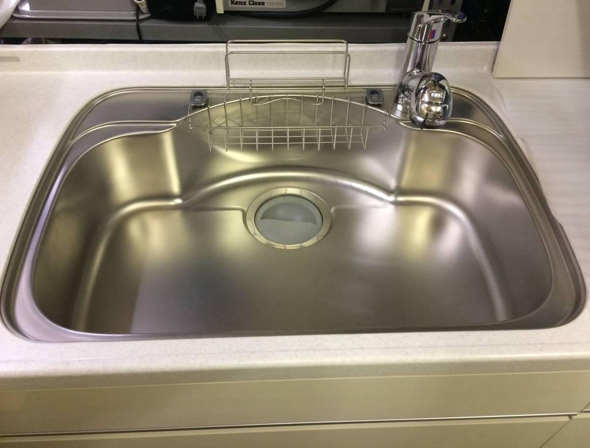 サンウェーブ LIXIL システムキッチン&フジテックレンジフード 展示未使用品!!_画像2