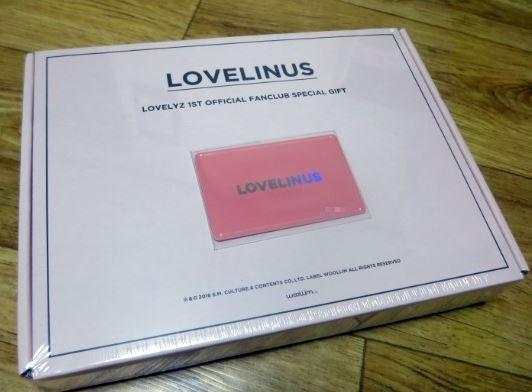 LOVELYZ★韓国 FC★LOVELINUS 1期★入会特典グッズ★非売品★新品