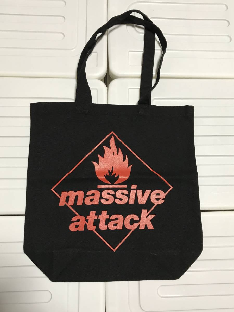 マッシヴ・アタック Massive Attack オフィシャル トートバック新品 豊洲PIT