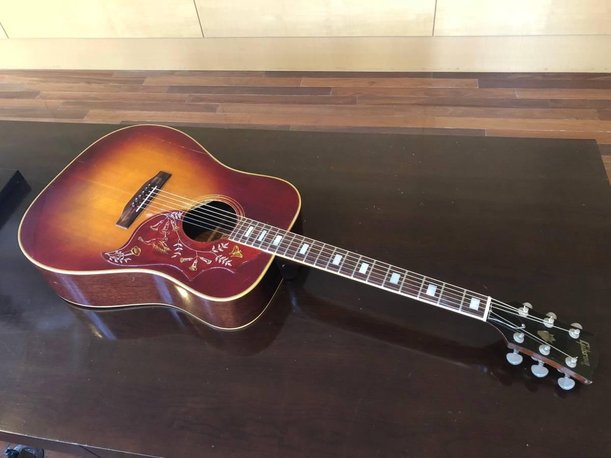 1970年 HUMMINGBIRD ギブソンアコースティックギター ビンテージ