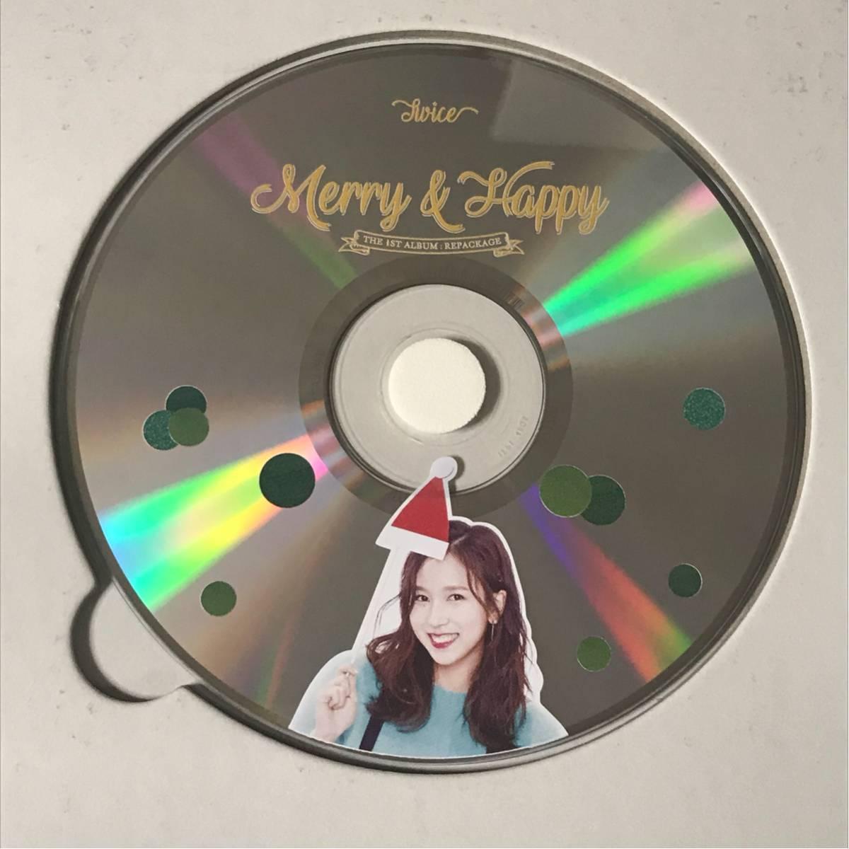 送料180円◆TWICE◆ミナ◆Merry&Happy◆ピクチャーレーベル CD◆即決